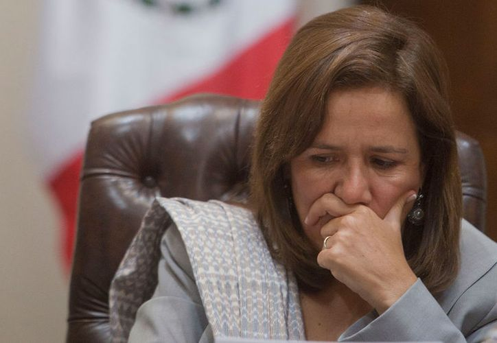 Colaboradores despedidos en la campaña de Margarita Zavala analizan demandar a la candidata independiente. (Foto: Prensa Libre)