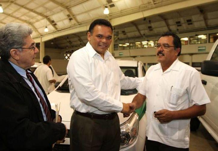 El gobernador estará este viernes en Homún para la entrega de recursos en pro de la productividad indígena. (SIPSE)
