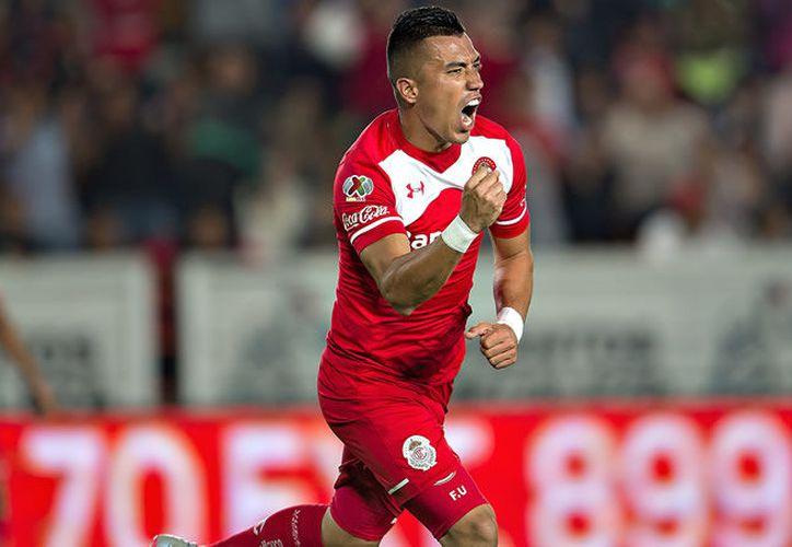 Fernando Uribe Hincapié, terminó como tercer mejor goleador del Clausura 2018 con el Toluca. (Telemundo)