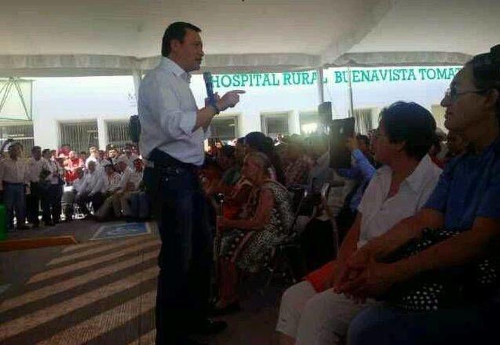El titular de la Segob dijo que las labores del gobierno federal en Michoacán no estarán centradas solamente en la delincuencia. (Twitter.com/@comisionadomichoacan)