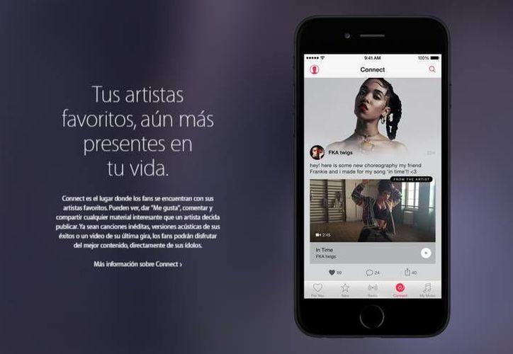 Apple Music puede sugerirte artistas y canciones según la música que escuchas. (apple.com)