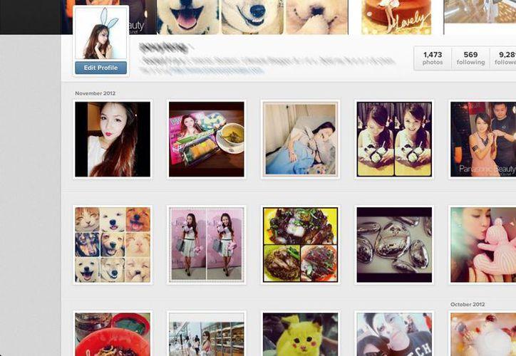 Solamente las fotos marcadas con privacidad están 'a salvo' de ser analizadas por empresas publicitarias. (Captura de pantalla/Instagram)