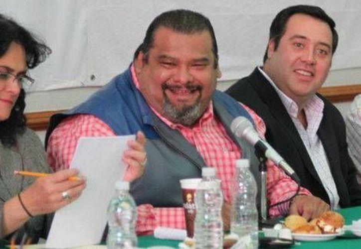 Cuauhtémoc Gutiérrez dejó de ser dirigente del PRI en el DF al inicio del mes pasado. (Milenio/Foto de archivo)
