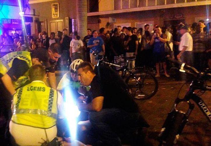 Un tiroteo durante el festival anual ZombiCon, en Florida, dejó saldo de un muerto. (AP)