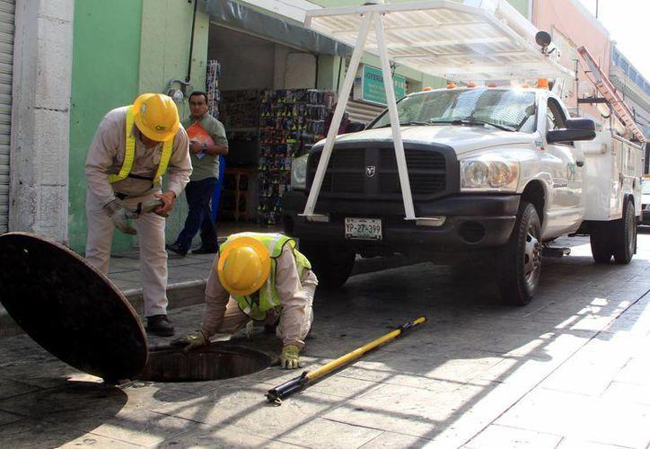 El personal de la CFE está preparado para reparar las fallas. (José Acosta/SIPSE)