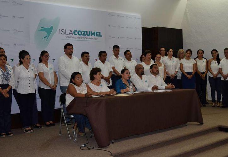 Perla Tun es una de los pocos munícipes de Quintana Roo que han presentado su declaración 3 de 3. (Gustavo Villegas/ SIPSE)