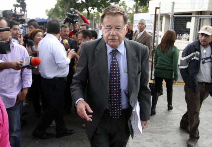 Luengo Creel verifica con el contador de Granier una presunta defraudación fiscal en 2009. (Notimex)
