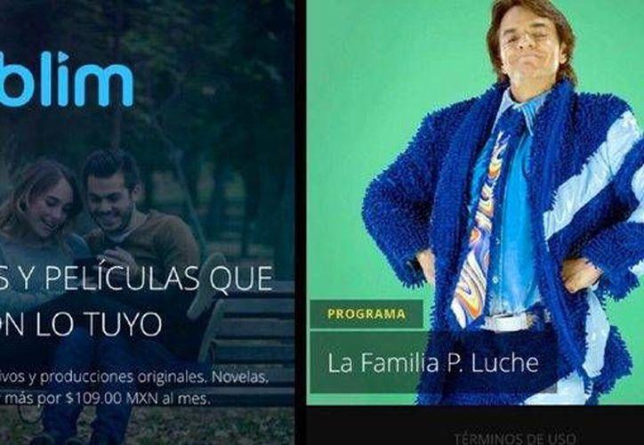 Televisa afirmó que Blim contará con lo más actual en novelas, comedia y eventos trascendentales  en México, así como series y películas. (Imagen/ Televisa)
