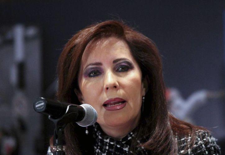 En la Conamm nos comprometeremos a garantizar el desarrollo de los municipios, declaró Bárbara Botello, alcaldesa de León. (Notimex)
