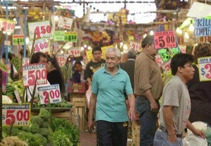 Se prevé que una vez entrado el segundo semestre la inflación tenga una tendencia a la baja. (Archivo/SIPSE)