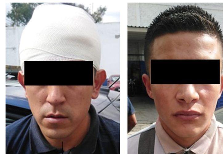 A los dos colombianos les aseguraron los teléfonos de las víctimas y el picahielo. (Foto: Milenio)
