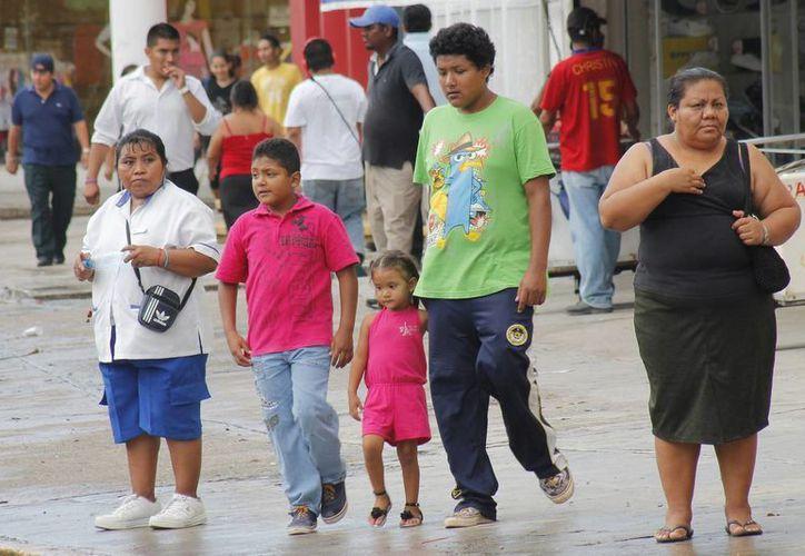 El 54% de la población es de personas que nacieron en otro estado de la República o en el extranjero. (Jesús Tijerina/SIPSE)