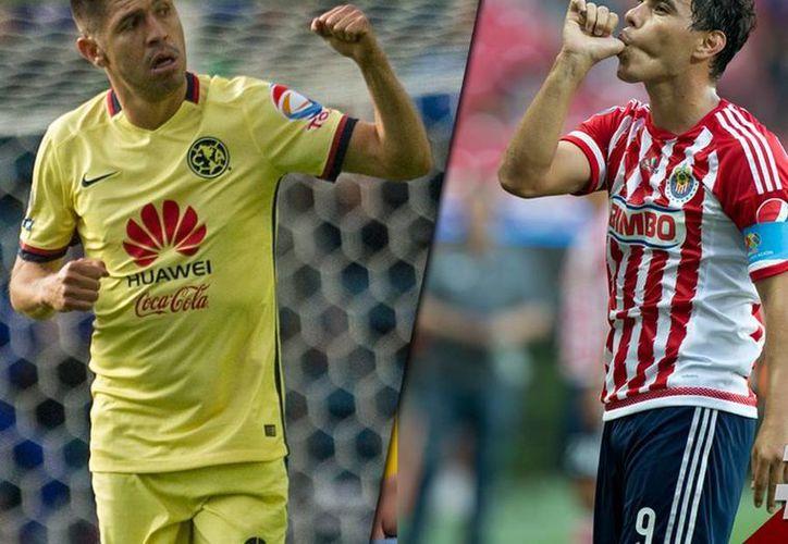 El Clásico América-Chivas de la jornada se realizará en el Estadio Azteca a las 17:00 horas. (@RedesESPN)