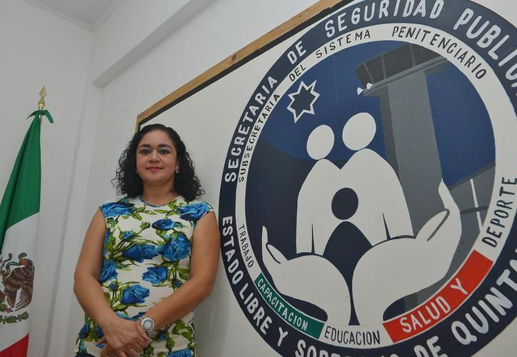 Jaimes García fue  la primera mujer en ocupar el cargo de directora del penal desde su construcción en el 2008. (Gustavo Villegas/SIPSE)