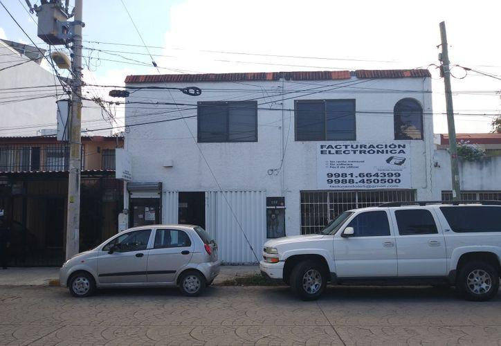 La empresa afectada se ubica sobre la avenida Palenque. (Redacción/SIPSE)