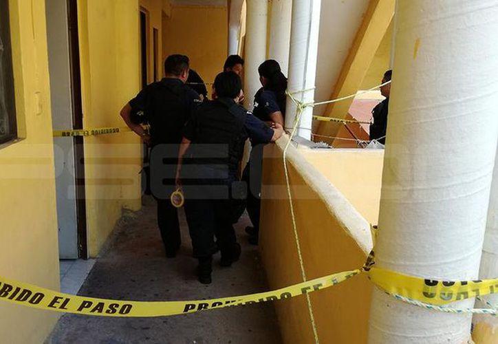 Las autoridades recogieron el cuerpo en un hotel del centro de Mérida el domingo por la mañana. (SIPSE)