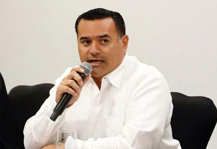 El alcalde Renán Barrera Concha. (Novedades Yucatán)