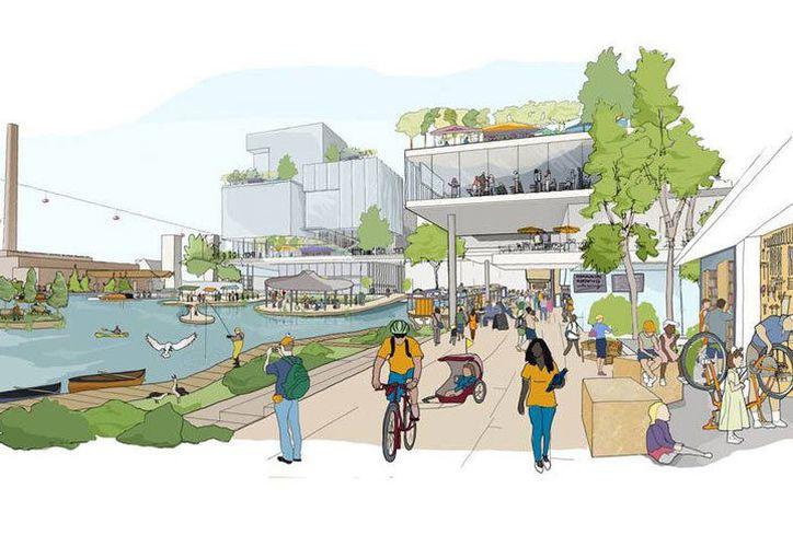 Se espera que el proyecto beneficie a miles de personas e incluya uso de bicicletas, coches eléctricos y transporte subterráneo de materiales. (Foto: Vanguardia MX)