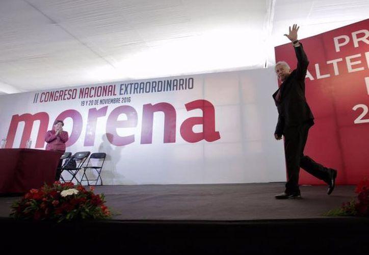 'La mafia va pa' afuera', aseguró López Obrador durante un evento en el estado de Nayarit. (Facebook/Andrés Manuel López Obrador)