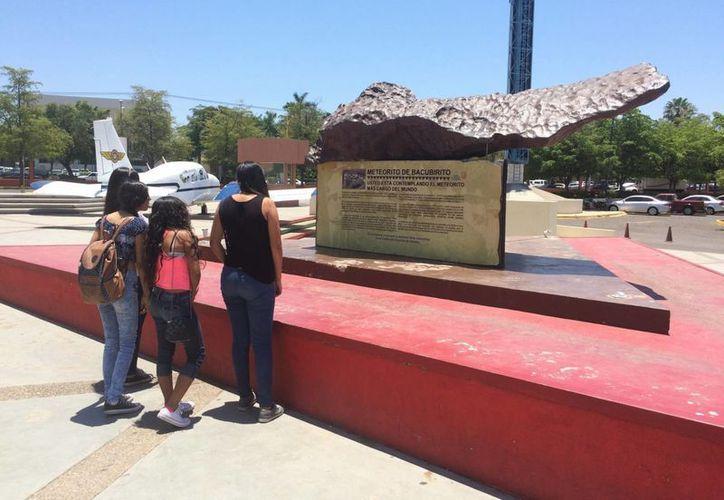 El Centro de Ciencias de Sinaloa alberga el meteorito de Bacubirito, encontrado en esta localidad hace más de 150 años. (Agencias)