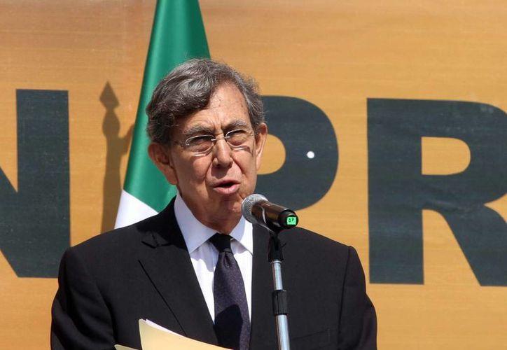 Cárdenas reitera su oposición al cambio de los artículos 27 y 28 constitucionales. (Notimex)