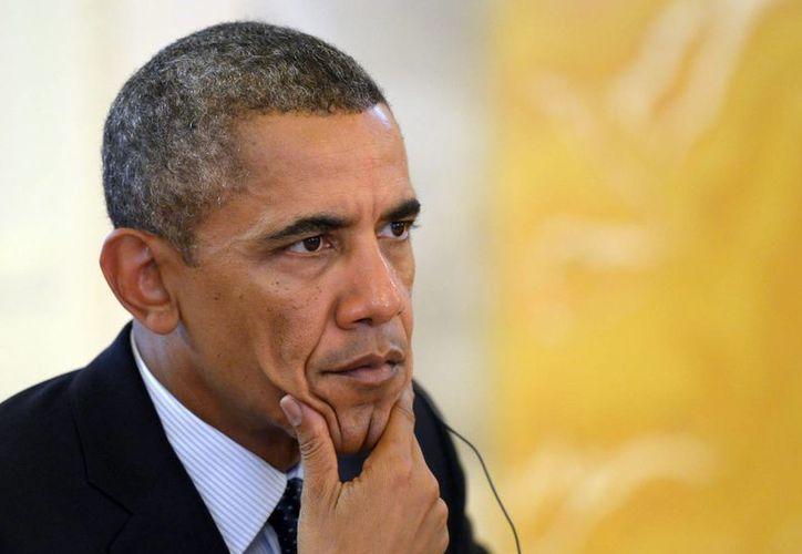 Obama aún no cuenta con el apoyo de la mayoría de congresistas. (EFE)