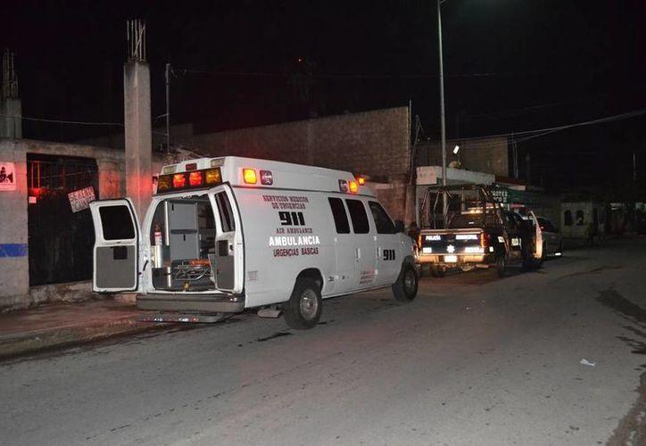 Un joven fue lesionado con un arma blanca al ser asaltado por cuatro sujetos en la colonia Colosio. (Redacción/SIPSE)