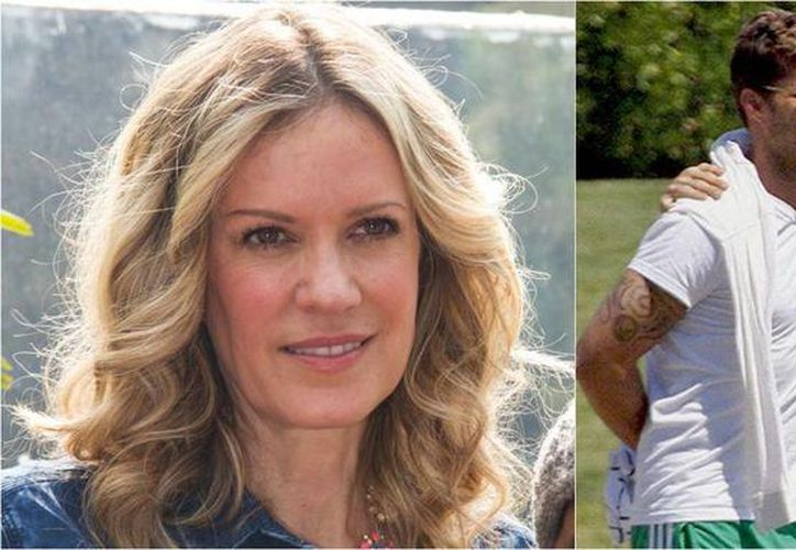 Rebeca de Alba quedó embarazada de Ricky Martin, pero perdió al hijo. Hace seis años el cantante reveló su homosexualidad. (Foto de archivo tomada de clase.in)