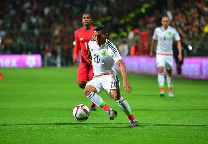 Este jueves, el nuevo técnico nacional, Juan Carlos Osorio, publicó su primera lista de convocados a la Selección Nacional. En la imagen, Javier Aquino, de Tigres. (Archivo/Jammedia)