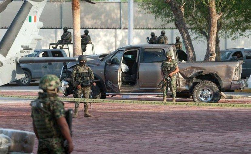 La violencia en Reynosa ha dejado 36 muertos en lo que va del año. (Ernesto Villalpando).