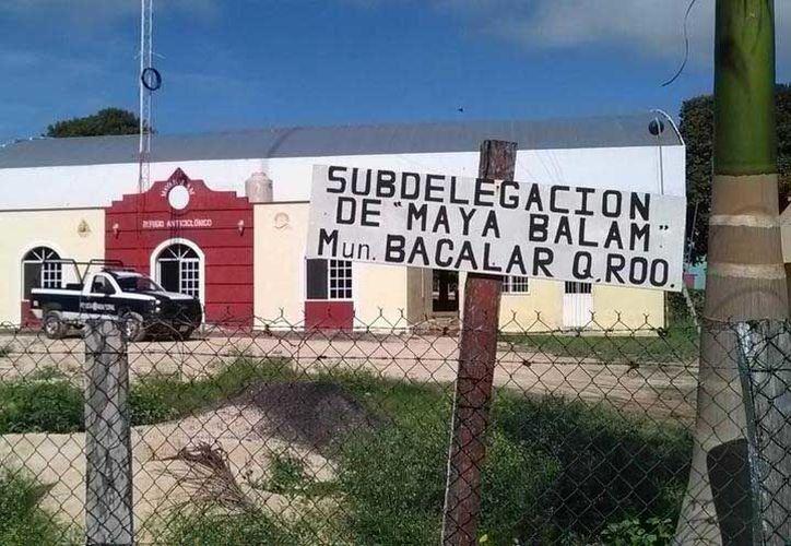Recientemente, autoridades de la comunidad de Maya Balam presentaron ante la Coordinación de Delegaciones y Subdelegaciones la petición formal para pasar de sub delegación a Delegación. (Carlos Castillo/SIPSE)