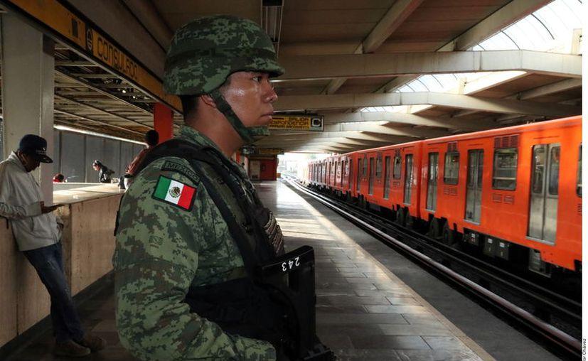 Se preveía que su presencia fuera solo para los límites con el Estado de México. (Foto: Reforma)