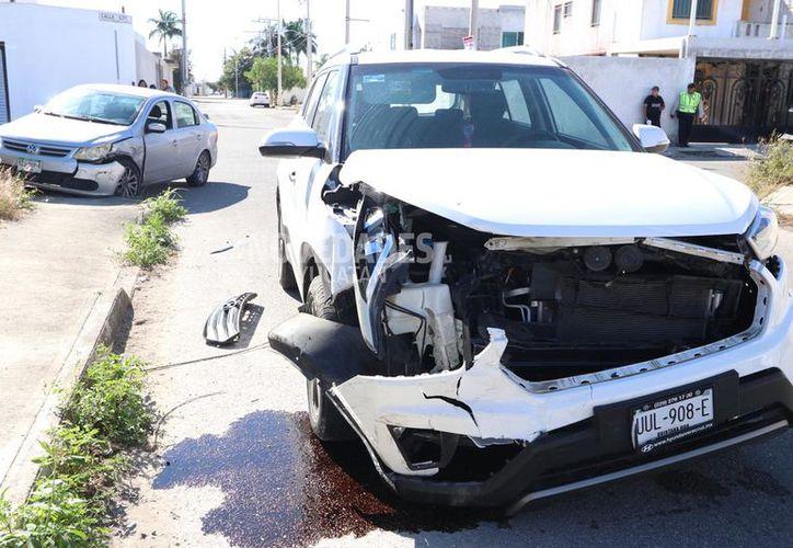 Ninguna persona resultó lesionada de gravedad. Lo peor fue el ridículo que hicieron los implicados.