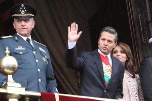 Enrique Peña Nieto celebra su primer Desfile Cívico como presidente