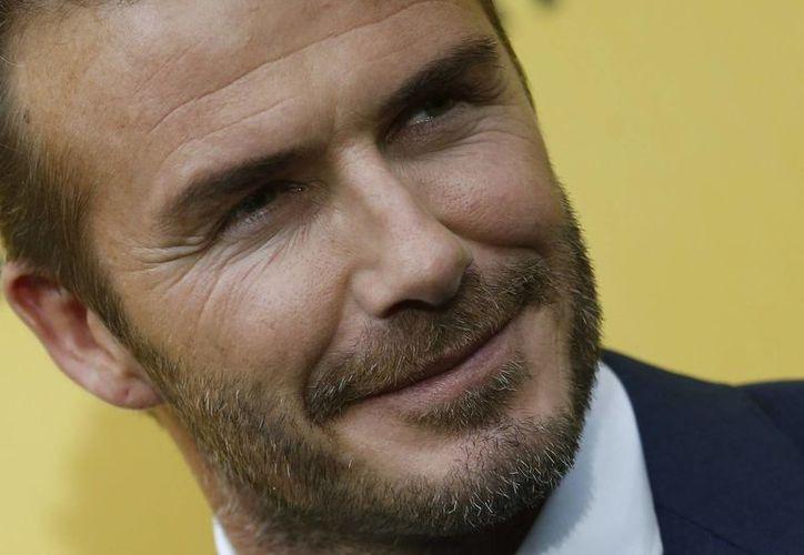 Como parte de un plan para recaudar fondos para Unicef, David Beckham llegó a Chile, de donde se trasladará a la Antártida para jugar un partido. (EFE)