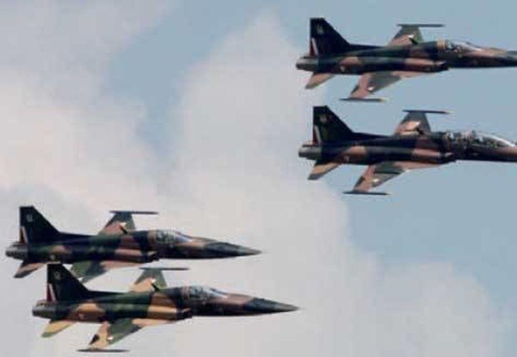 Los pilotos de naves espaciales reciben formación en la fuerza aérea. (Redacción/SIPSE)