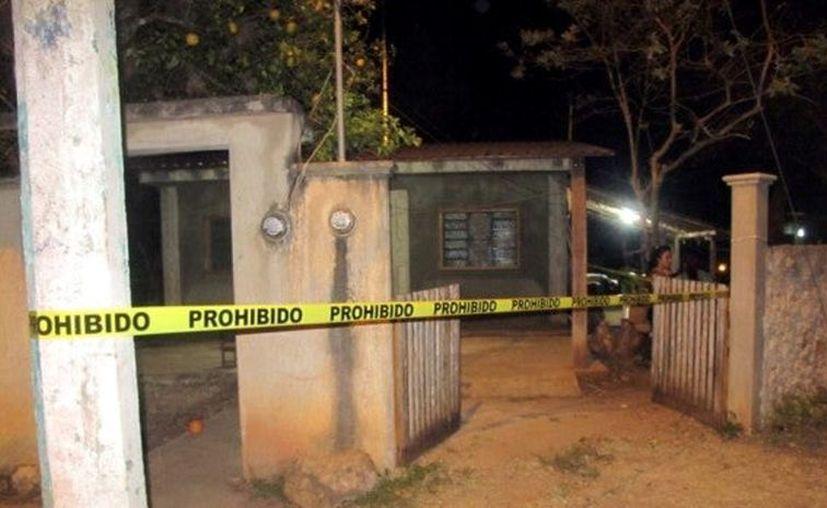 Los hechos sucedieron el pasado 8 de marzo en este domicilio ubicado en Ticum, comisaría de Tekax. (Foto: redes sociales)
