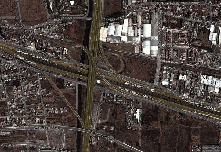 La construcción del segundo nivel de la autopista México-Toluca se realizará en el tramo La Marquesa. (Google Maps)