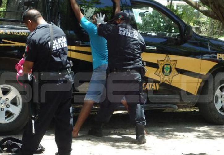 El presunto abusador fue capturado por agentes ministeriales y presentado ante el tribunal. (SIPSE)