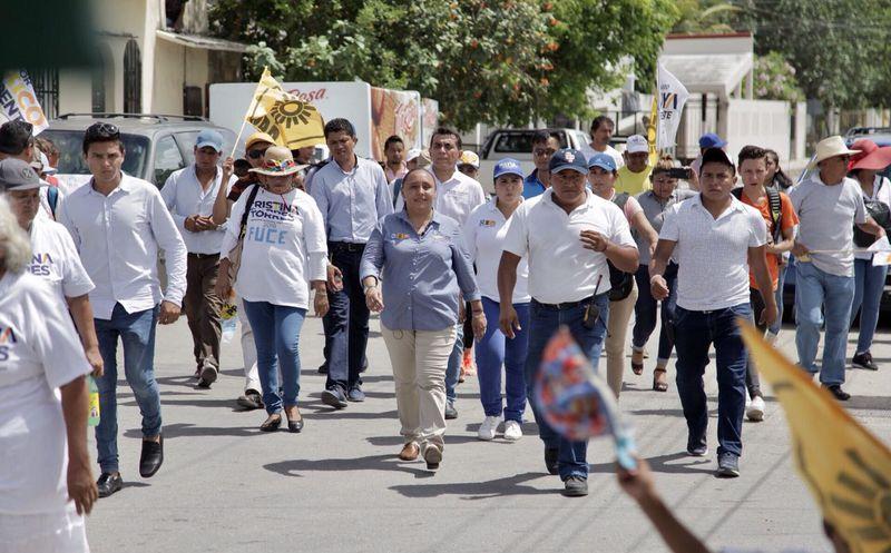 Cristina se compromete a dar continuidad a las acciones de seguridad que se implementaron durante su gobierno. (Redacción)