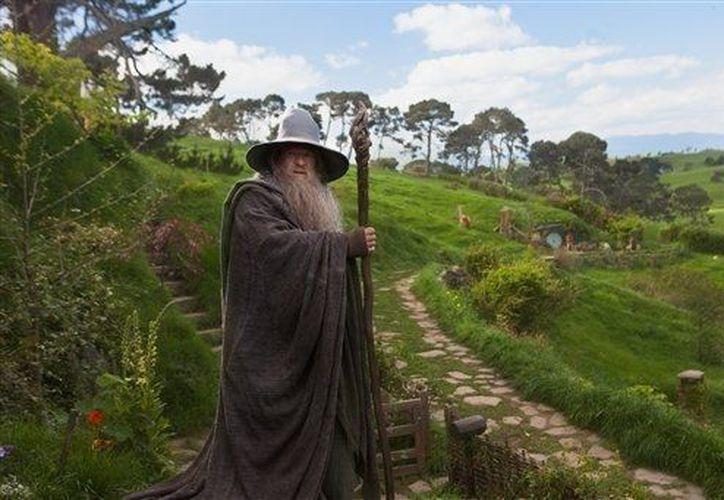 """Ian McEllen durante una escena de """"The Hobbit"""", estrenada esta semana. (Agencias)"""