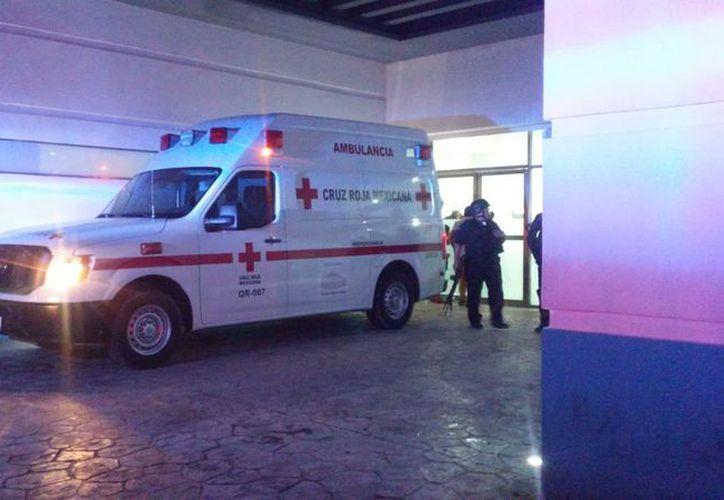 El hombre discapacitado está en el hospital general de Cancún. (Foto: SIPSE)