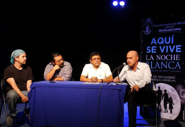 Autoridades y participantes anunciaron las actividades del evento.