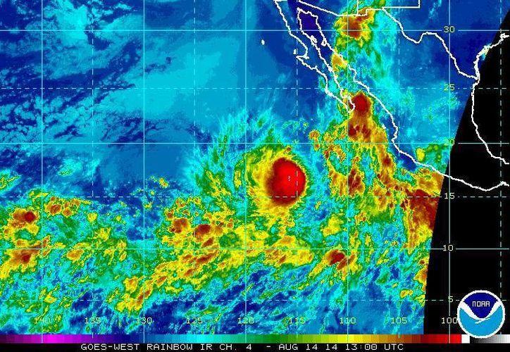 Para este jueves el SMN pronostica que habrá lluvias en la mayor parte del país. (ssd.noaa.gov)