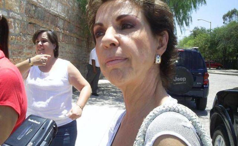 Marta Sahagún de Fox deseó salud a López Obrador y consideró que es un ciudadano valioso y valiente. (Archivo/SIPSE)