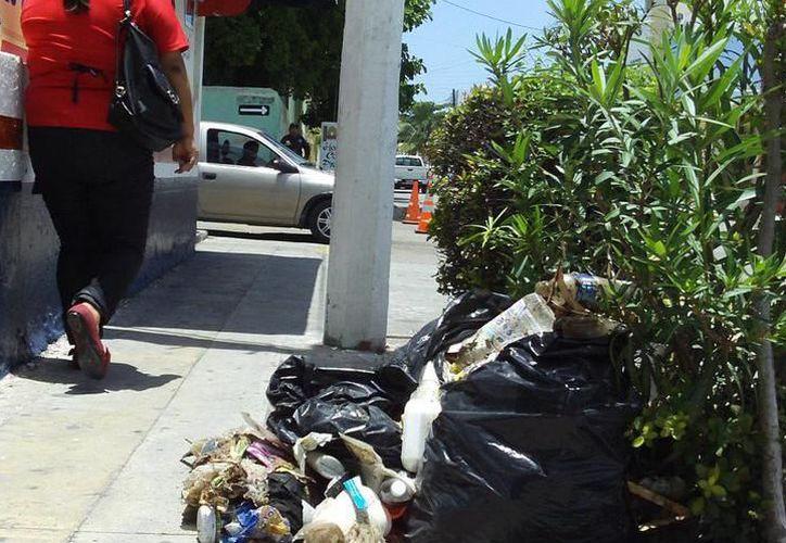 Los vecinos deberán sacar sus residuos a la puerta de sus casas para que sean recolectados. (Imagen ilustrativa de archivo)