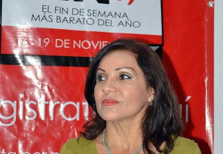 Marisol Lugo Ayora, presidenta del CCE. (Milenio Novedades)