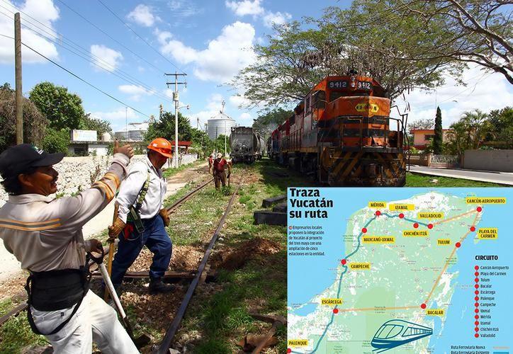 'Con la inclusión de Yucatán al proyecto ahora sí le podemos llamar tren maya con mucho gusto', dijo el dirigente de la Cámara Nacional de la Industria de la Transformación (Canacintra), Juan Manuel Ponce Díaz. (SIPSE)
