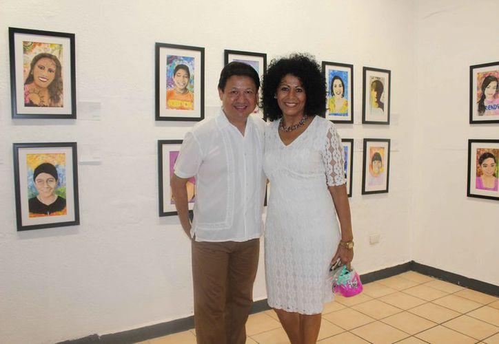 Los cursos son impartidos por el maestro Luis González y la maestra Elena González. (Faride Cetina/SIPSE)