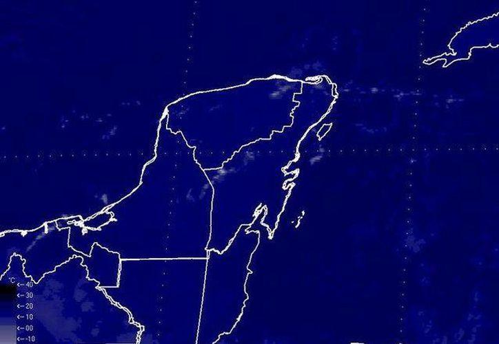 El frente frío 19, ahora estacionario en el norte del país, llegará a la Península impulsado por una masa de aire frío. (Conagua)